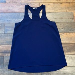 Abound Brand long tank top navy blue size Large